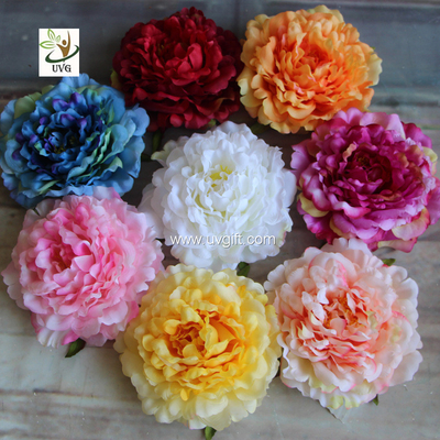 uvg wholesale silk flowers in individual artificial penoy for floral wall backdrop fpn113
