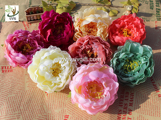 UVG cheap faux floral arrangements exotic silk penoy artificial wedding flowers for indian wedding decorations FPN117