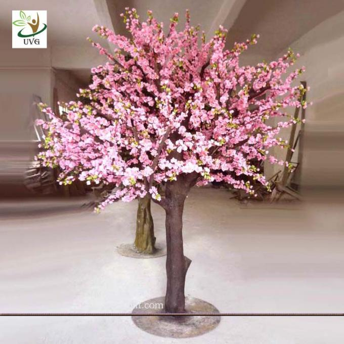 UVG CHR055 Artificial Peach Blossom Tree decorative wedding landscaping 6ft high