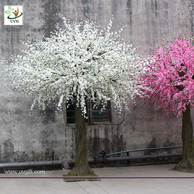 UVG CHR026 Artificial plastic flower cherry blossoms for wedding decoration in China