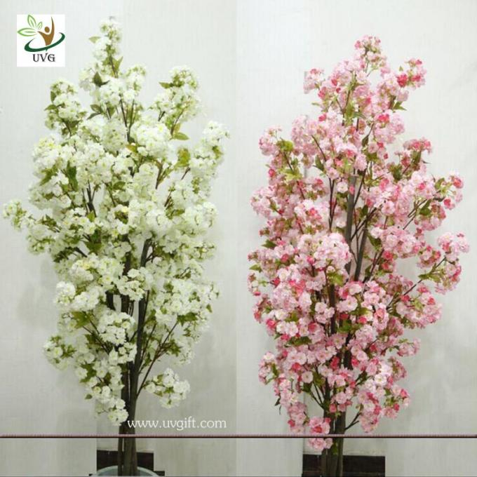 Small Centerpiece Trees : Uvg chr artificial white cherry blossom trees small