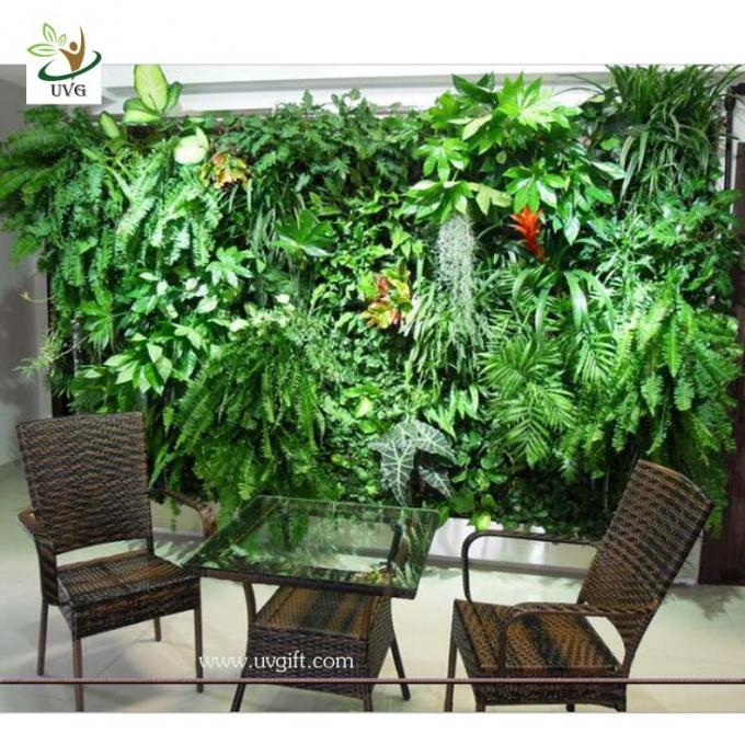 UVG GRW06 Wholesale Fake Garden Walls design Plant wall for Library Decoration
