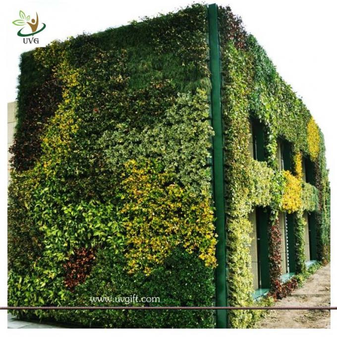 UVG GRW011 Vertical Garden Green Wall fake plastic plants walls indoor and outddor use