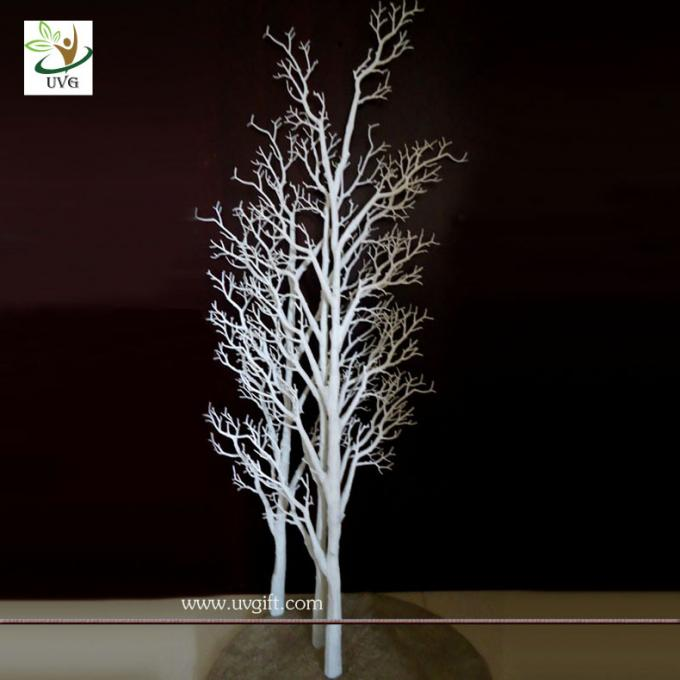 UVG DTR12 White coor Dry tree branch decoration for window and wedding use