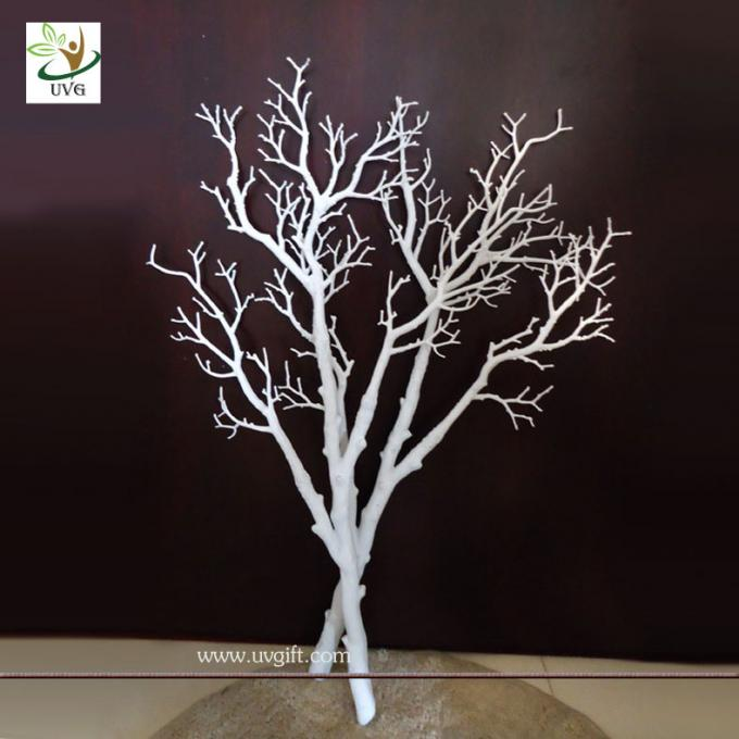 UVG DTR010 Dry Tree Branch for Home Decor with white color for wedding decoration