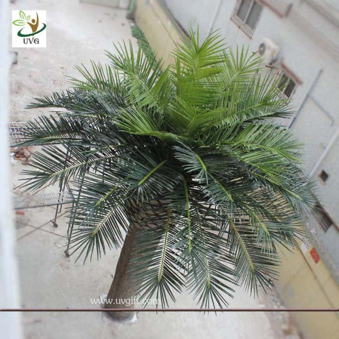 UVG PTR013 20ft Giant fake palm tree dubai with UV leaves for outdoor beach decoration