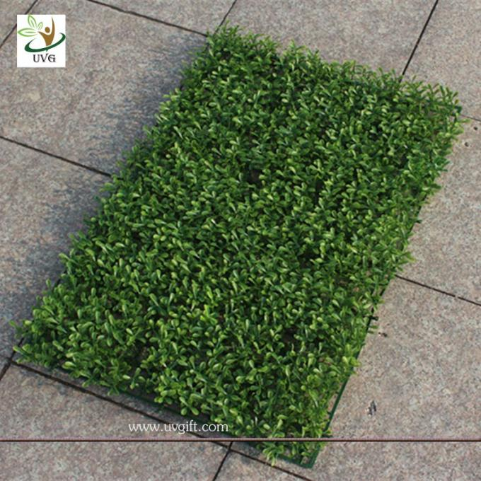 UVG GRS07 Artificial Plastic Grass Mat Boxwood Panel indoor outdoor green plants