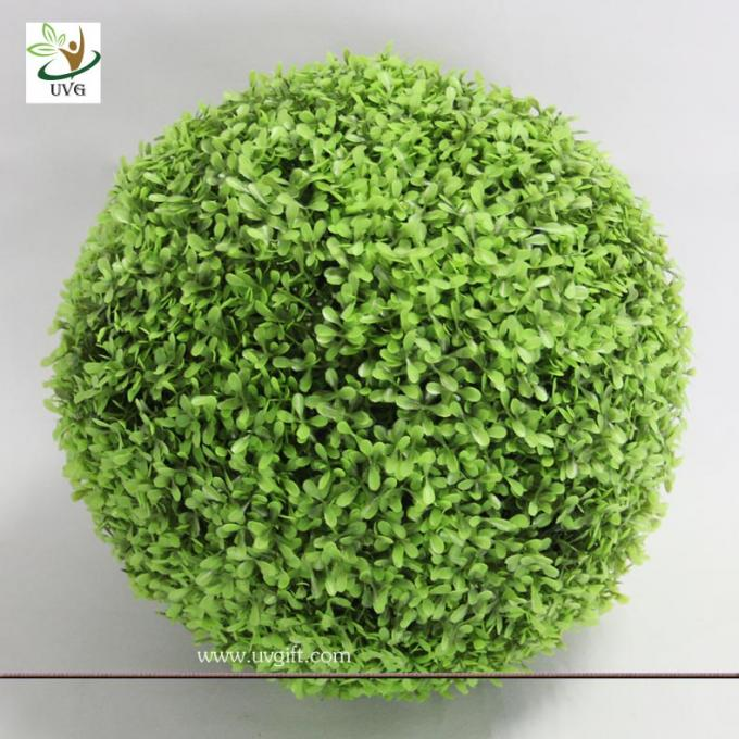 UVG GRS10 Artificial Boxwood Ball Outdoor Green Plants for home garden landscaping