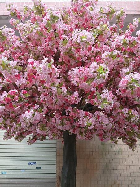 UVG Event party supplier make artificial trees in silk cherry blossoms for wedding decor