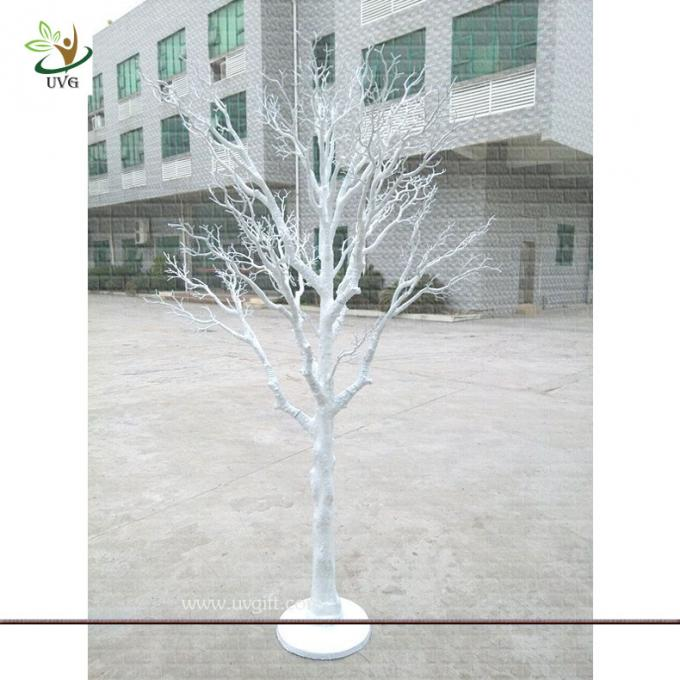 UVG DTR15 Brown cheap artificial dry trees for wedding decoration table centerpiece