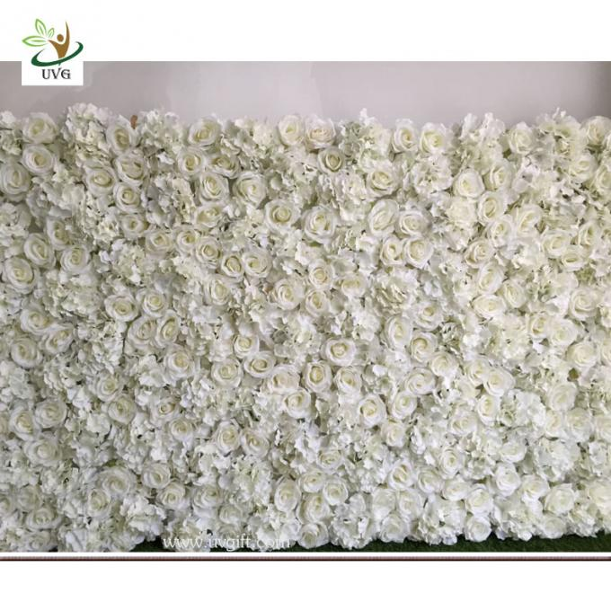 UVG DIY party background in fake rose and hydrangea flower wall backdrops for weddings item