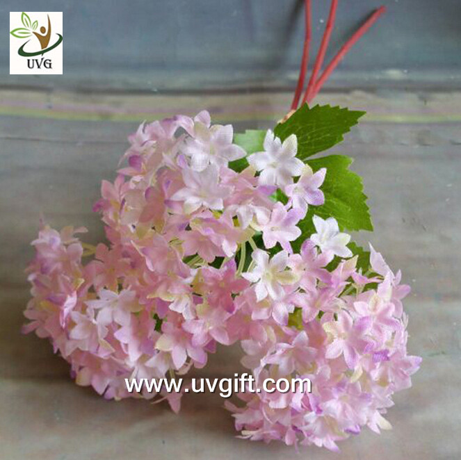 UVG FHY63 making hydrangea flowers artificial for wedding decorating and partying