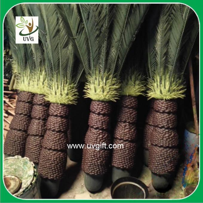 UVG PLT06 artificial outdoor plants small potted cycas revoluta for garden decoration