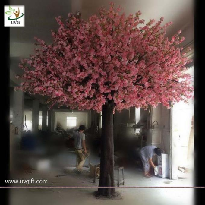 UVG CHR117 buy cherry blossom tree with artificial flowers from china manufactory 6m tall