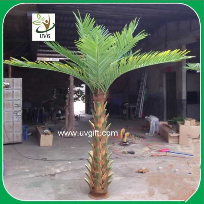 UVG PTR040 small palm tree artificial with silk leaves for garden decoration