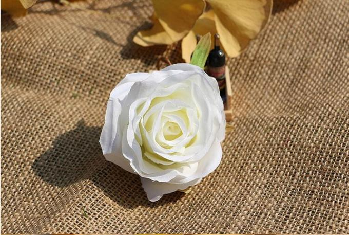 UVG FBL02 silk roses artificial flower head for wedding flower wall backdrop use