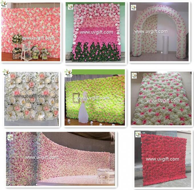 UVG CHR1136 how to make a flower wall for wedding backdrops decoration