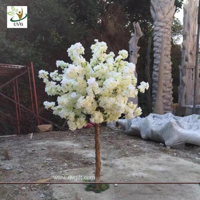 UVG customized small artificial cherry blossom tree uk for wedding table decorations CHR159