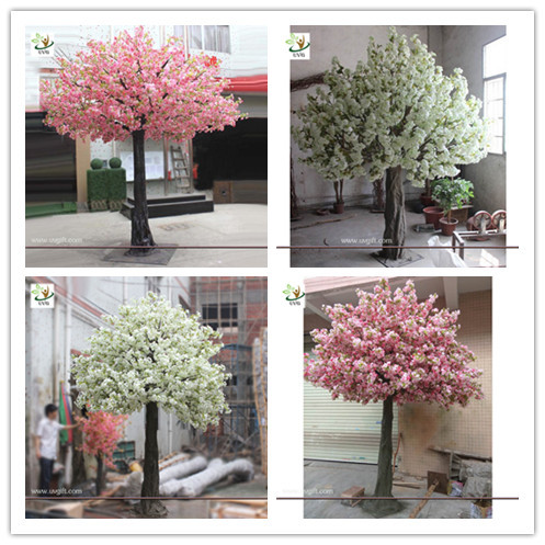 UVG indoor decorations cherry blossom tree artificial in silk flower arrangements for wedding planners CHR155