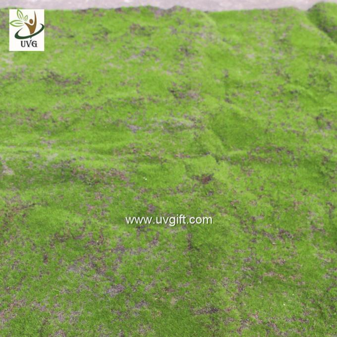 UVG landscape decor accessories flocking artificial moss carpet garden synthetic grass mat for indoors use GRS041