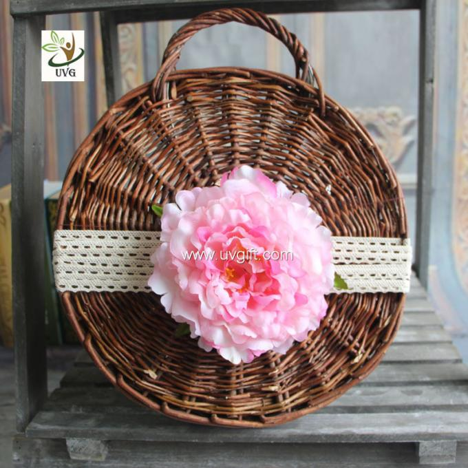 UVG wholesale silk flowers in individual artificial penoy for floral wall backdrop arrangements FPN113