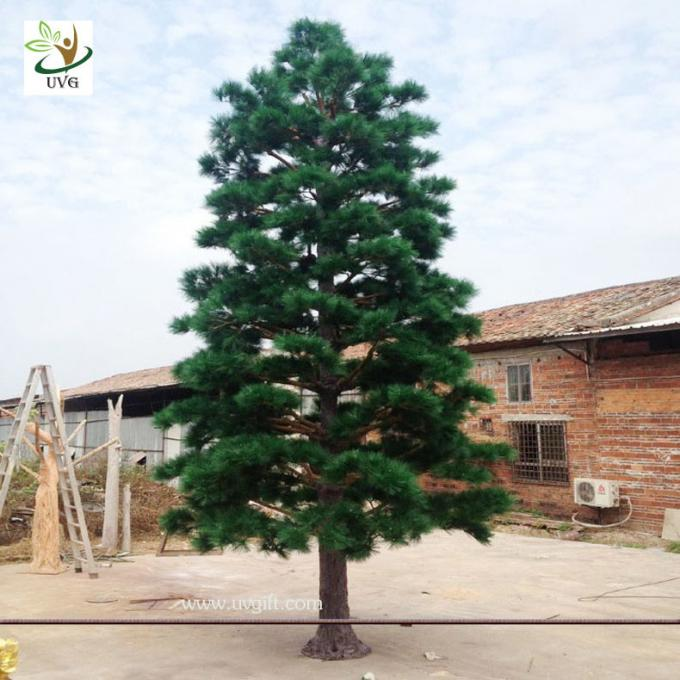 UVG new outdoor christmas decorations artificial pine tree for road ornament made in china GRE065