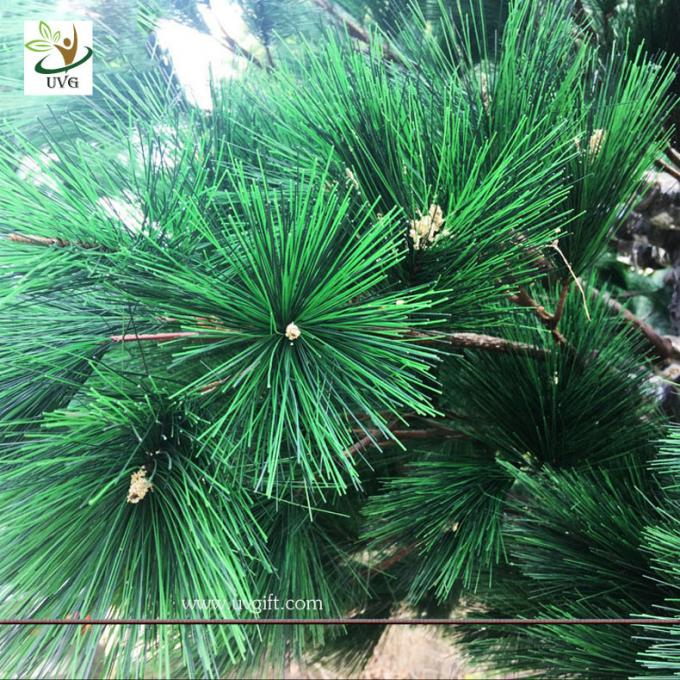 UVG christmas trees decorating with artificial pine tree branches for garden ornament GRE066