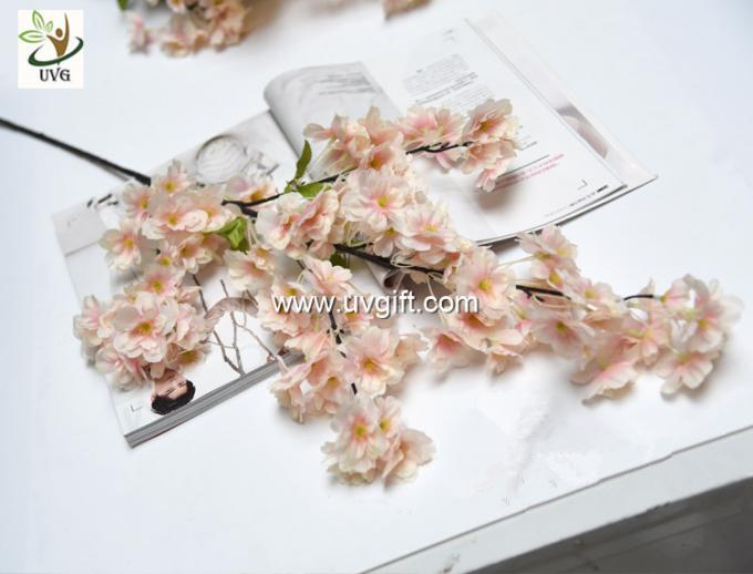 UVG china supplier silk cherry blossom tree branch decor for wedding vase use CHR167